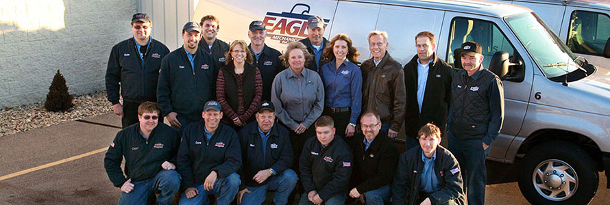 Staff of Eagle Mechanical Heating and Cooling in Door County, WI
